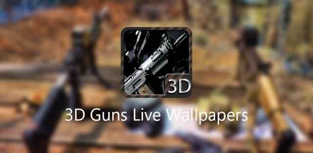 3D Guns Live Wallpapers