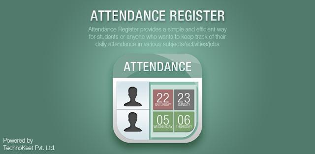 Easy Attendance Register